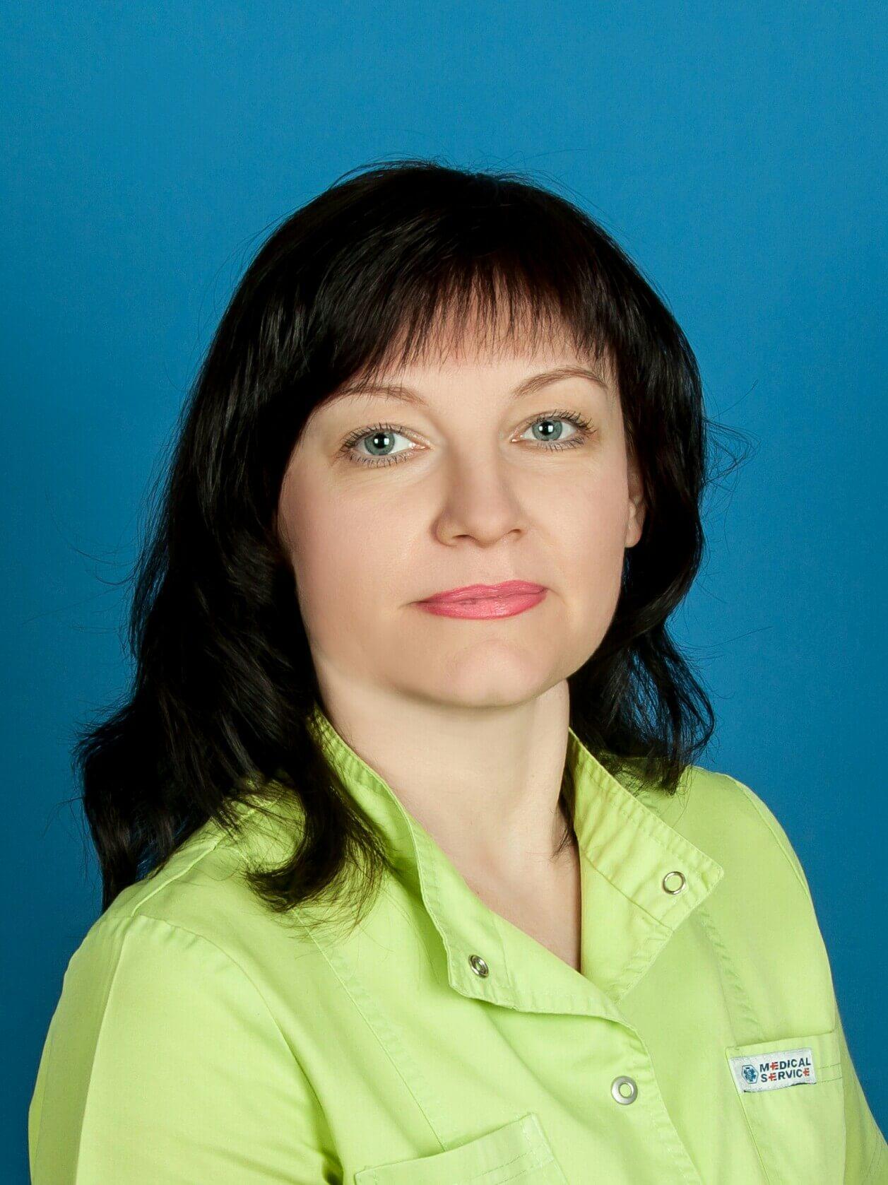 Медсестра Аврамова Елена