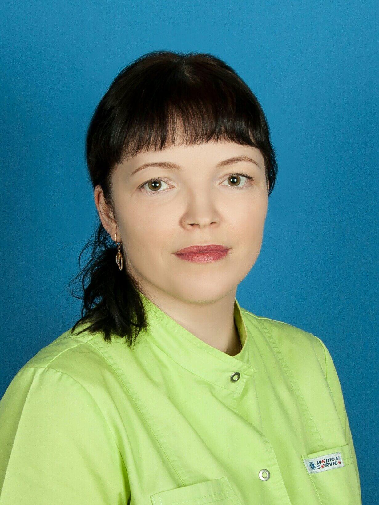 Медсестра Азарова Екатерина