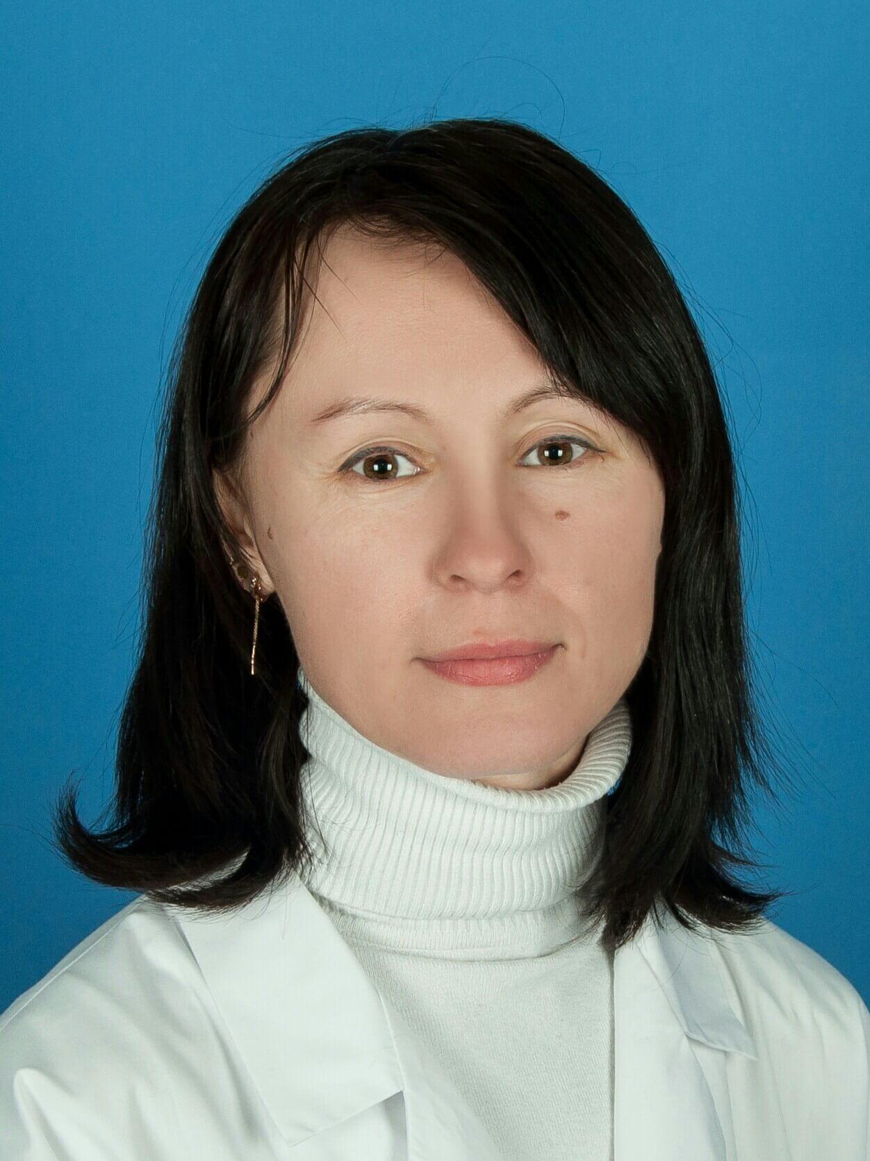 Врач кардиолог Серебрякова Н.В.